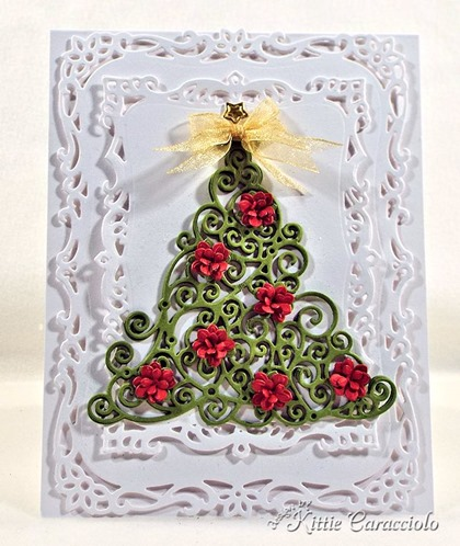 KC Impression Obsession Swirly Christmas Tree 1 center
