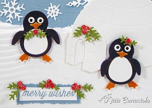 KC Impression Obsession Penguin and Igloo 1 close