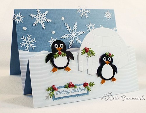 KC Impression Obsession Penguin and Igloo 1 left