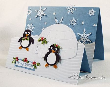 KC Impression Obsession Penguin and Igloo 1 right