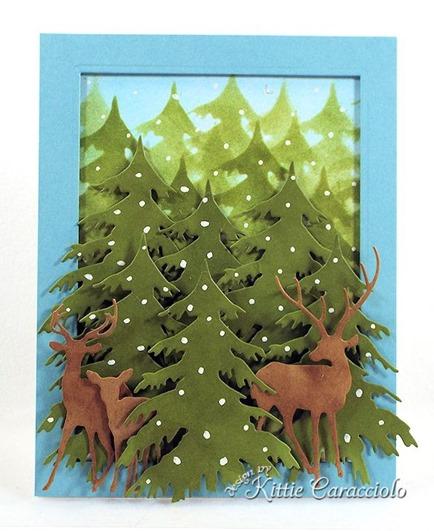 KC Impression Obsession Deer Trio 2 center