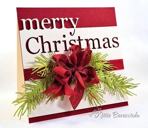 KC Memory Box Merry Christmas 2 left