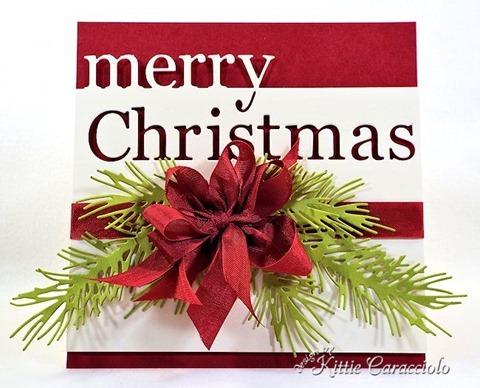 KC Memory Box Merry Christmas 2 center