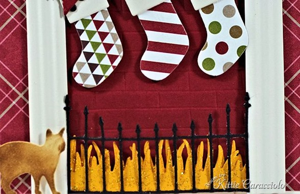 KC Memory Box Cheerful Stockings 1 fireplace
