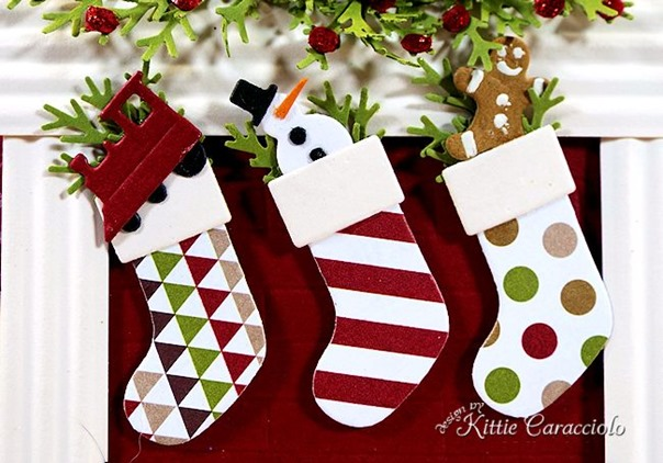 KC Memory Box Cheerful Stockings 1 stockings