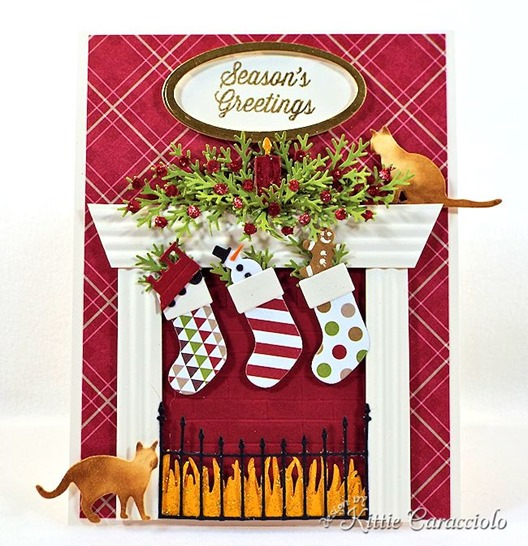 KC Memory Box Cheerful Stockings 1 center
