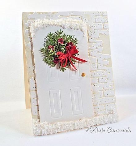 KC Sizzix Door and Wreath 2 left