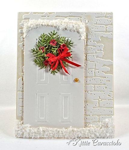 KC Sizzix Door and Wreath 2 center