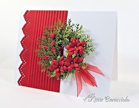 KC Poppy Stamps Small Blooming Poinsettia 3 right