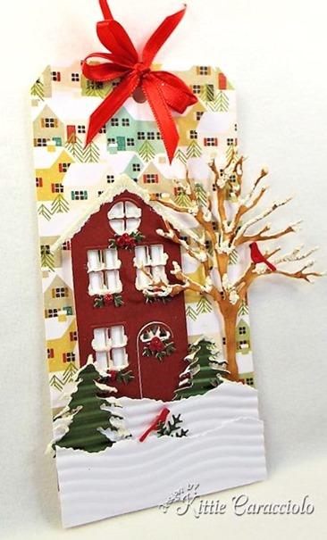 KC Memory Box Village House 3 left