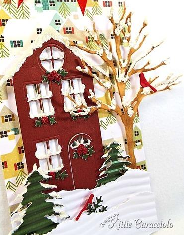 KC Memory Box Village House 3 left close