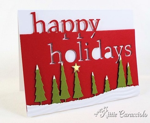 KC Memory Box Grand Happy Holidays 4 left