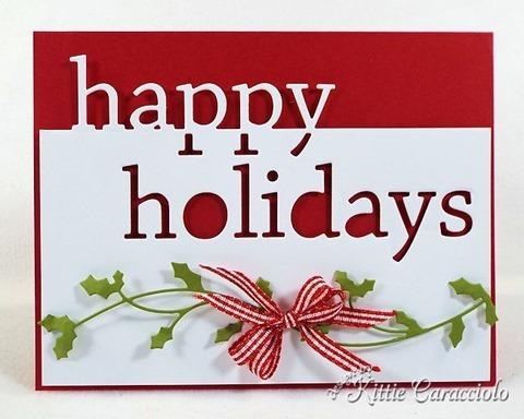 KC Memory Box Grand Happy Holidays 3 center