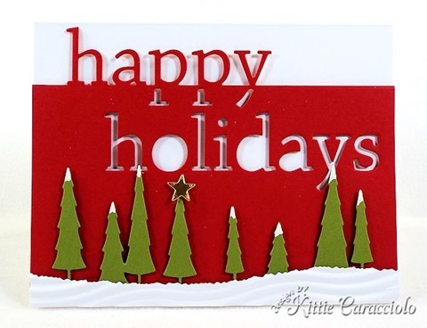 KC Memory Box Grand Happy Holidays 4 center