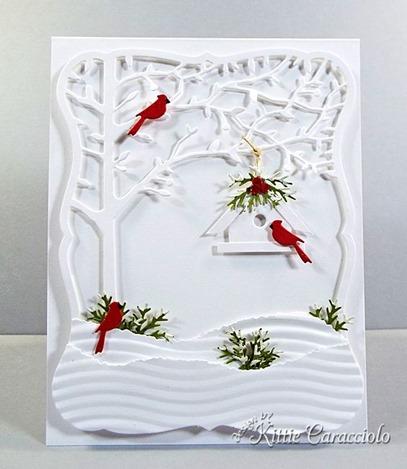 KC Memory Box Orchard Tree Frame 6 center