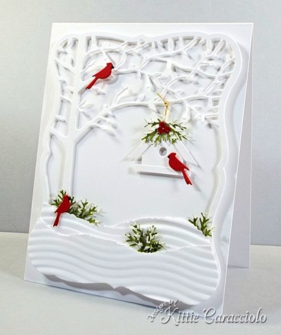KC Memory Box Orchard Tree Frame  6 right
