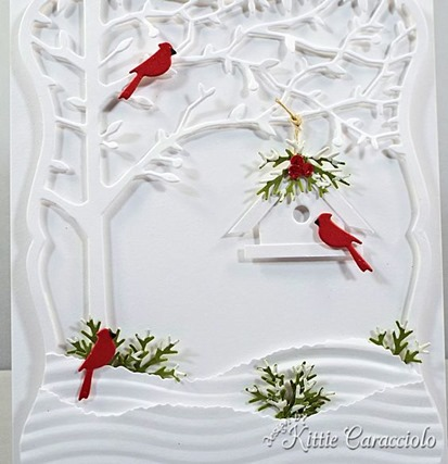 KC Memory Box Orchard Tree Frame 6 close full