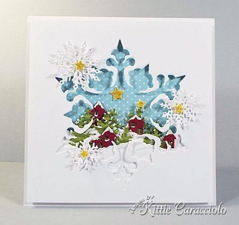 KC Impression Obsession Large Snowflake 2 center