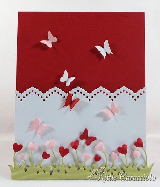KC Impression Obsession Floral Heart Strip 1 center