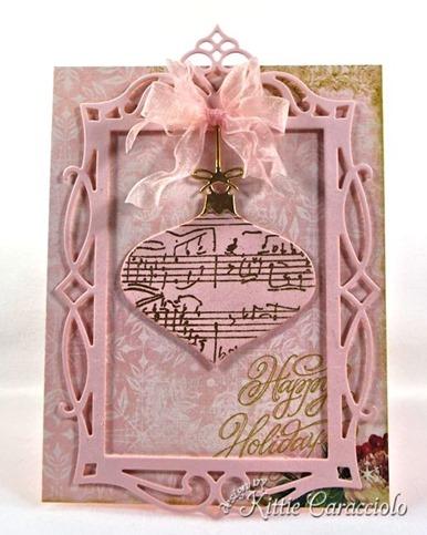 KC Impression Obsession Vintage Ornament 1 center