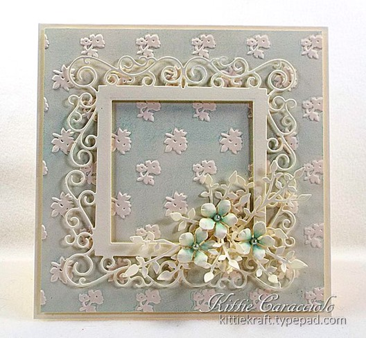 KC Poppy Stamps Claudette Frame 1 center