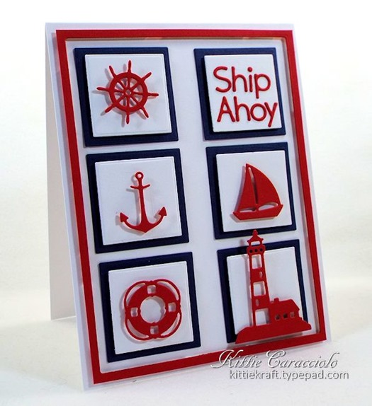 KC Impression Obsession Mini Nautical Set 2 left