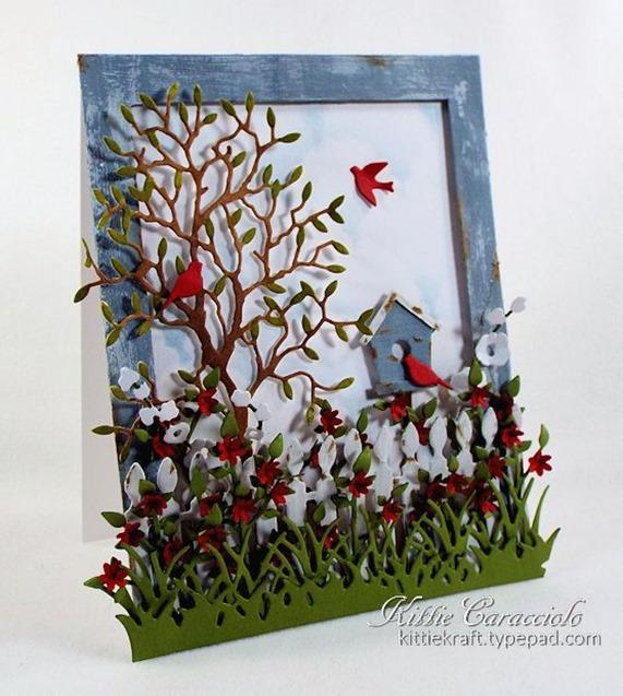 KC Impression Obsession Birdhouse Set 1 left