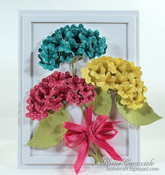 KC Impression Obsession Hydrangea Set 4 center