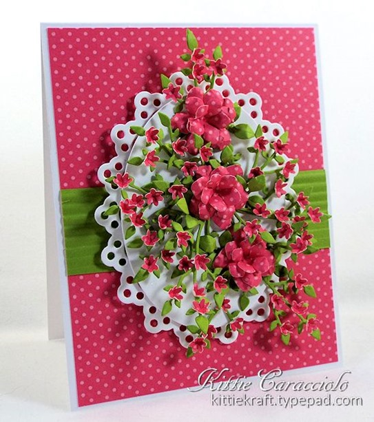 KC Elizabeth Craft Bunch of Flowers 1 left