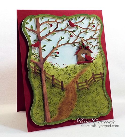 KC Memory Box Orchard Tree Frame 7 left