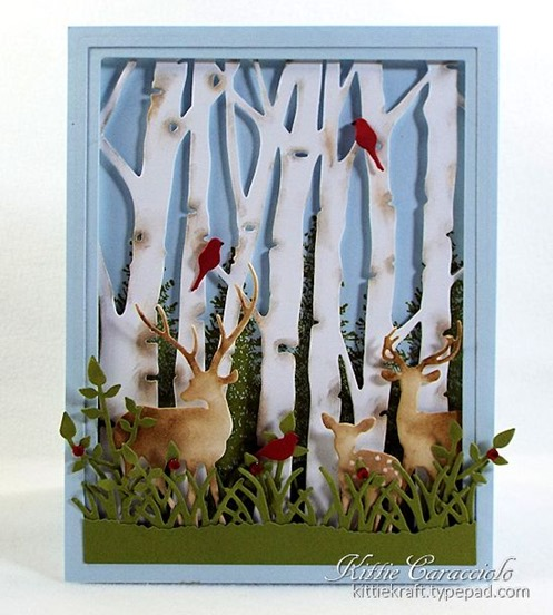 KC Taylored Expressions Birch Tree Cutting Plate 1 center
