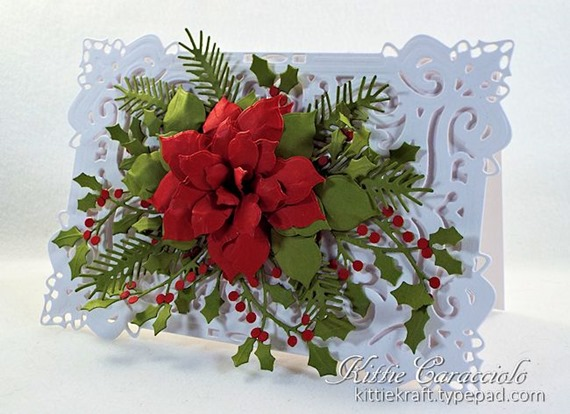 KC Creative Expressions Festive Collection Classic Poinsettia 1 right