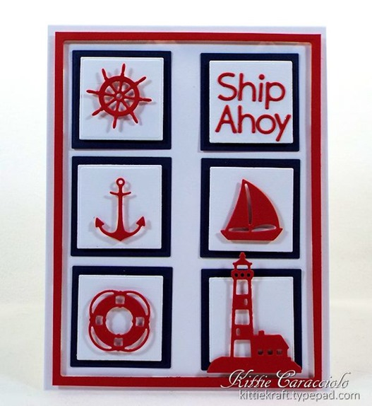 KC Impression Obsession Mini Nautical Set 2 center