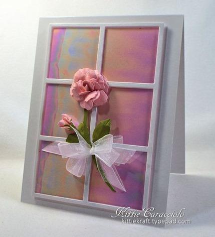 KC Elizabeth Craft Susan Garden Notes Rose 2 1 right