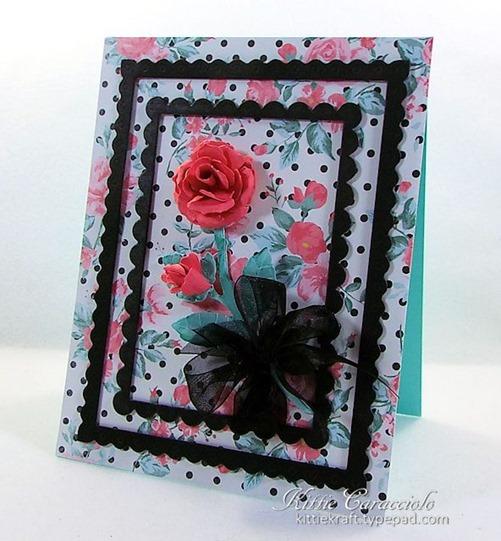 KC Elizabeth Craft Garden Notes Rose 2 right