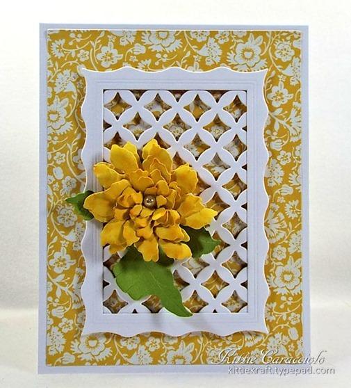 KC Elizabeth Craft Sunflower 2 center
