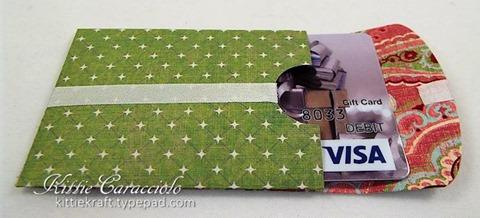 KC Impression Obsession Gift Card Envelope 1 open