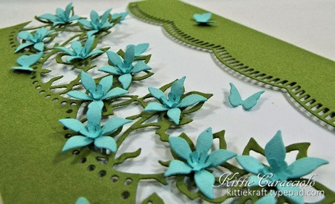 KC Marianne Designs Anja's Flowers 2 close