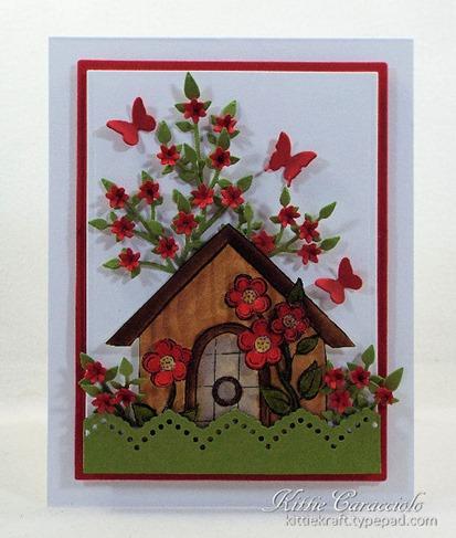KC Impression Obsession Flower Birdhouse 2 1 center