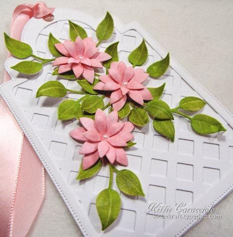 KC Elizabeth Craft Bunch of Flowers 1 4 side