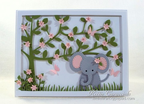 KC Impression Obsession Patchwork Elephant 3 center