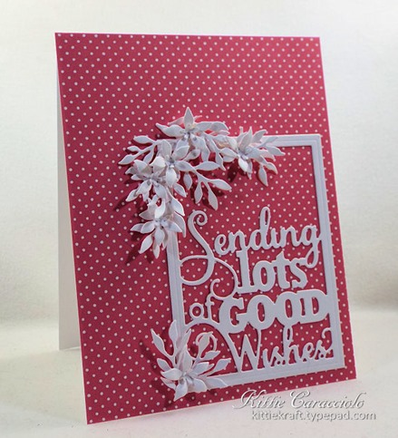 KC Impression Obsession Good Wishes Word Block 2 left