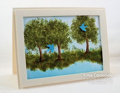 KC Art Impressions WC Tree Set left