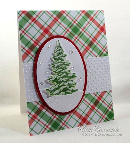 KC Hero Arts Color Layering Snowy Tree 3 left