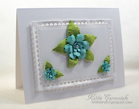 KC Sizzix Small Tattered Florals 1 left