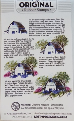 Old Barn Instructions