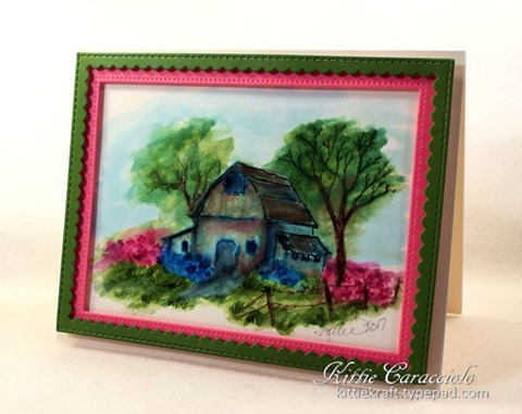 KC Art Impression Old Barn Mini Set 1 right