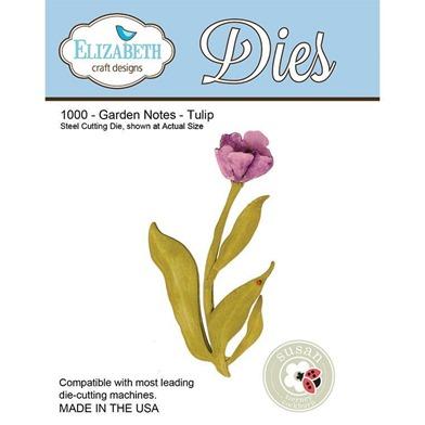 Elizabeth-Craft-Designs-Dies-Garden-Notes-Tulip-by-Susan-Tierney