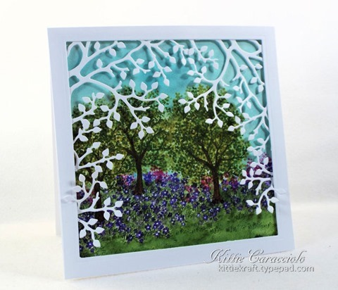 KC Art Impressions Tree Set 3 left