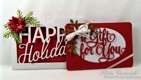 Fold Over Gift Card